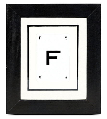 VINTAGE PLAYING CARDS Initial frame - F