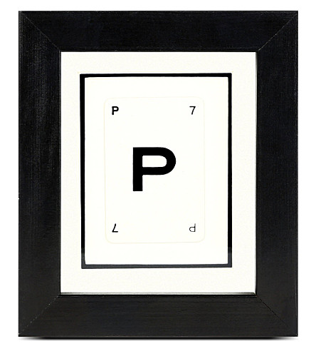 VINTAGE PLAYING CARDS Initial frame P