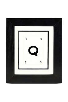 VINTAGE PLAYING CARDS Initial frame Q
