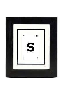 VINTAGE PLAYING CARDS Initial frame S