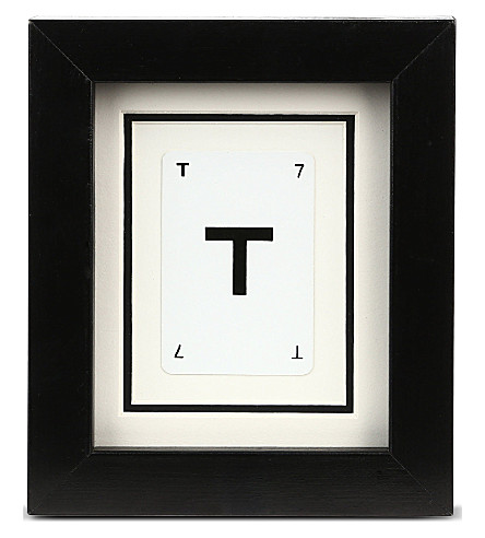 VINTAGE PLAYING CARDS Initial frame - T