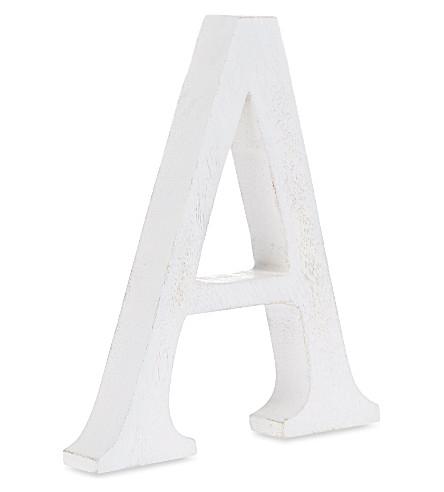 NKUKU Wooden letter 'A' 15cm