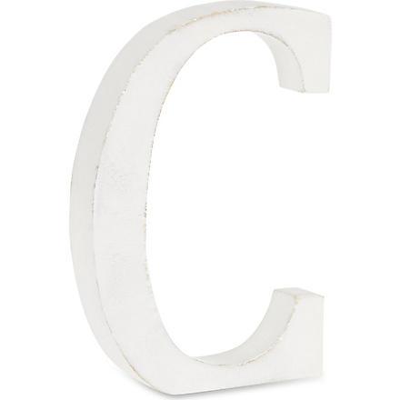 NKUKU Wooden letter 'C'