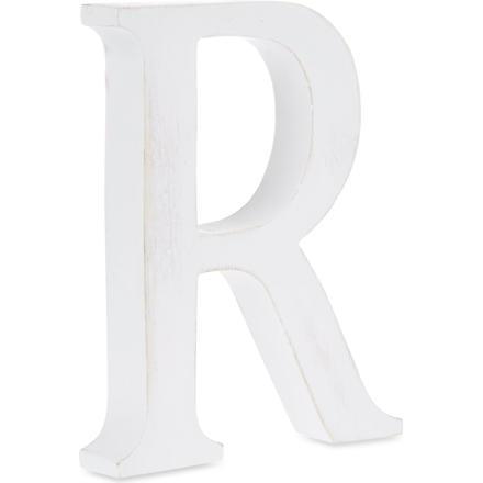 NKUKU Wooden letter 'R' 15cm