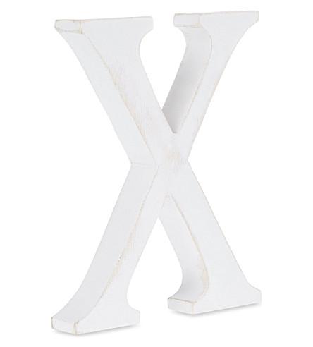 NKUKU Wooden letter 'X'