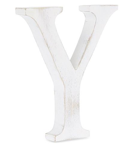NKUKU Wooden letter 'Y'