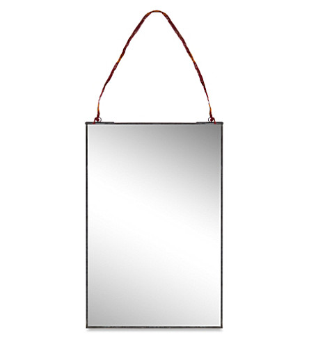 NKUKU Kiko antique mirror 25cm x 40cm