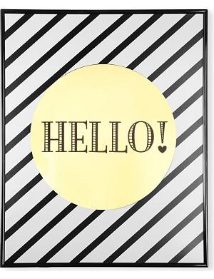 MISS ETOILE Hello poster 40x50cm