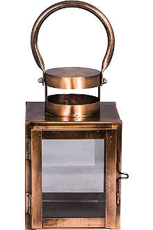 BROSTE Brenton copper lantern small