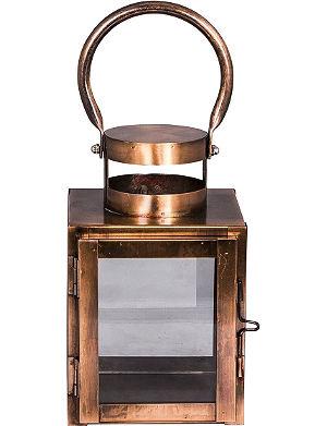 BROSTE Brenton copper lantern small