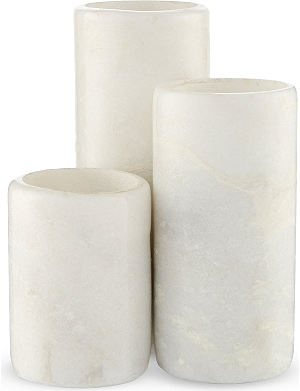 BROSTE Marble tealight holders