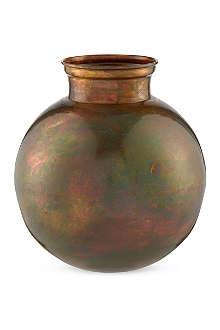 BROSTE Karson iron vase 20cm