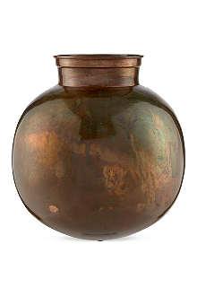 BROSTE Karson iron vase 26cm
