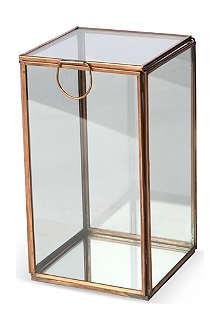 CULINARY CONCEPTS Glasshouse medium copper candle holder