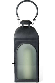 CULINARY CONCEPTS Restoration medium frosted glass lantern