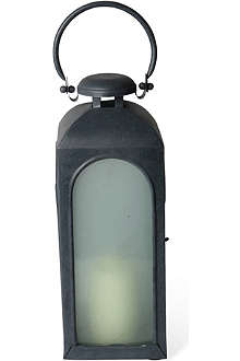 CULINARY CONCEPTS Restoration small frosted glass lantern