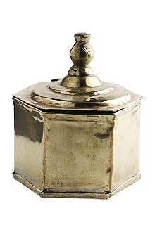 TINEKHOME Brass pot with lid
