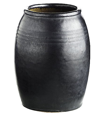 TINEKHOME Glazed ceramic jar