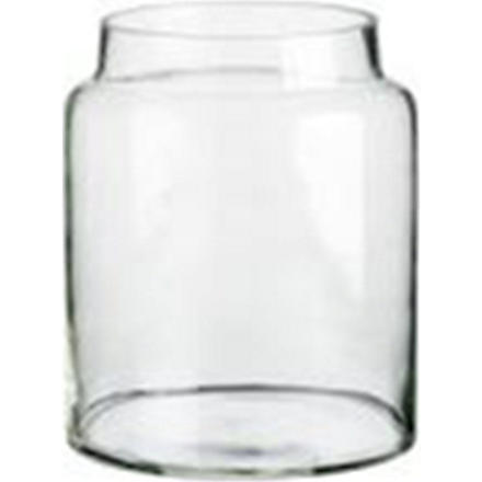 TINEKHOME Small glass storage jar