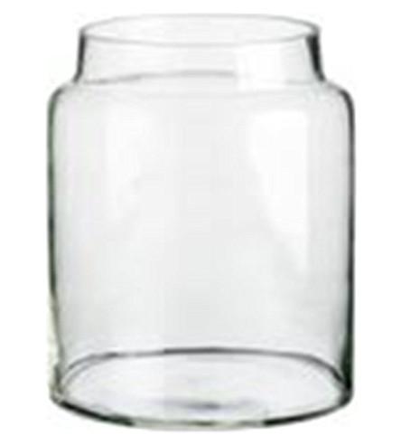 TINEKHOME Small glass storage jar
