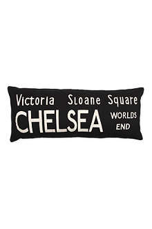 Victoria Bus Route cushion