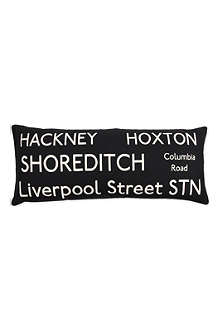 BARBARA COUPE Hackney Bus Route cushion