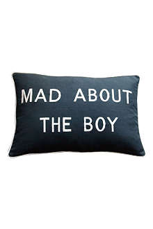 BARBARA COUPE Mad About The Boy cushion