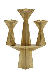 TOM DIXON Gem gold candelabra
