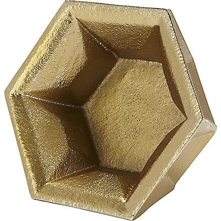 TOM DIXON Gem gold tealight holder