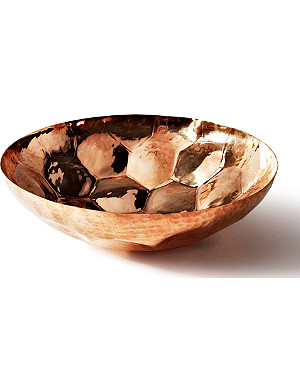 TOM DIXON Hex small copper bowl 18cm