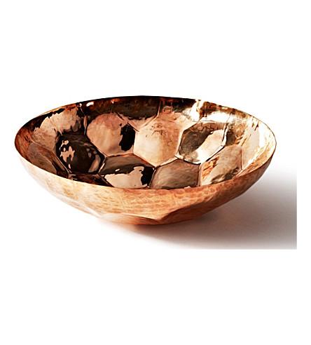TOM DIXON 六角小铜碗18厘米