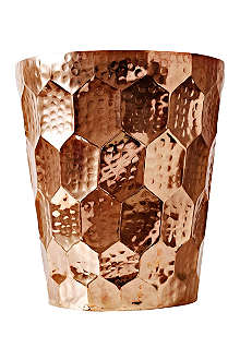 TOM DIXON Hex copper champagne bucket
