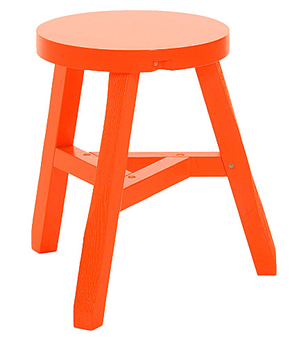 Tom Dixon Offcut Fluoro Stool Selfridges Com