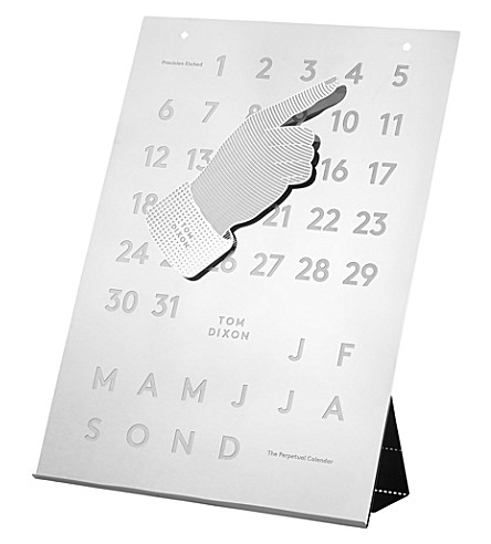 TOM DIXON Tool the Perpetual Calendar