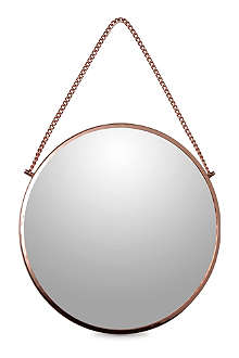 HOUSE DOCTOR Bolina round copper mirror 38cm