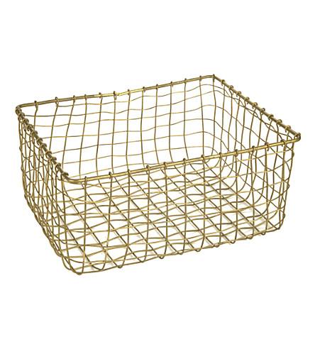 HOUSE DOCTOR Deluxe basket set of 2