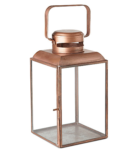 HOUSE DOCTOR Vintage-finish lantern 26cm