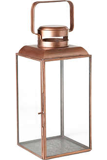 HOUSE DOCTOR Vintage copper lantern 30cm