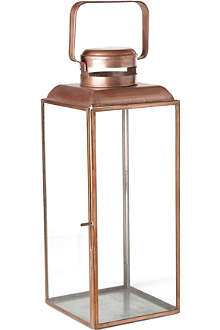 HOUSE DOCTOR Vintage copper lantern 36cm