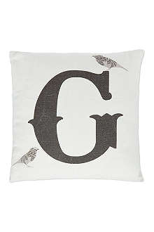 ANNIE LITTLE G monogram cushion