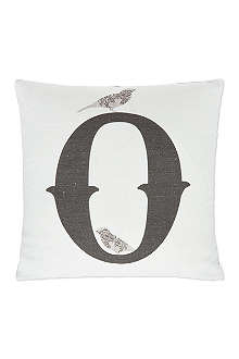 ANNIE LITTLE O monogram cushion