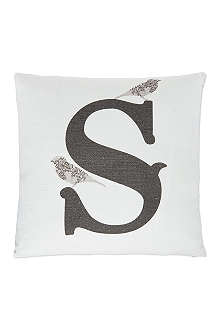 ANNIE LITTLE S monogram cushion