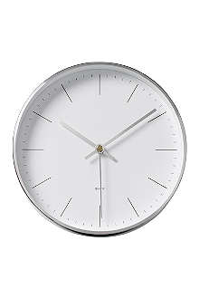 BLOOMINGVILLE Metal wall clock