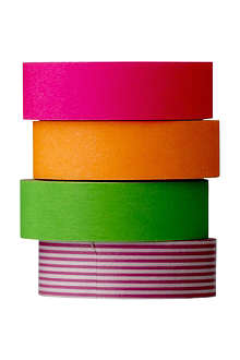 BLOOMINGVILLE Set of four neon tapes