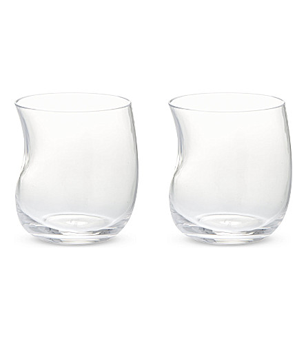 GEORG JENSEN Cobra set of two small tumblers