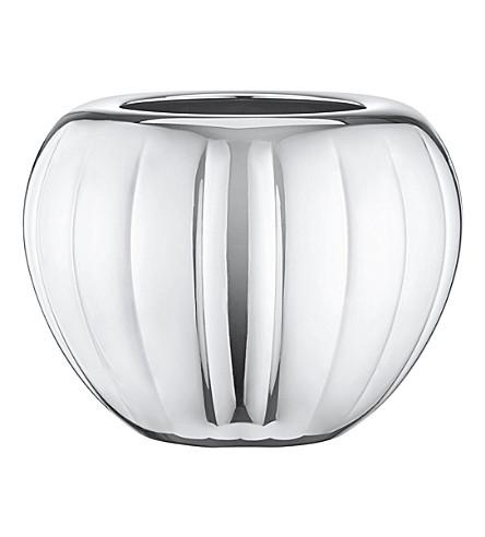 GEORG JENSEN Legacy stainless steel vase