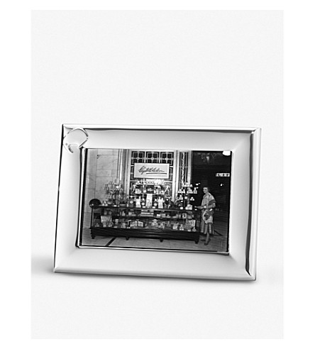 GEORG JENSEN Elephant stainless steel photo frame 13x18cm
