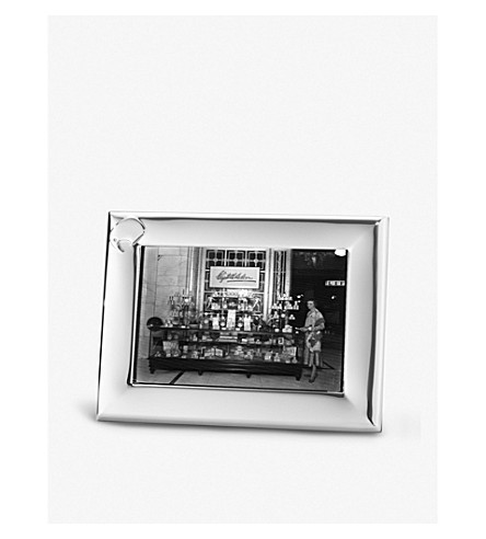 GEORG JENSEN Elephant stainless steel photo frame 10x15cm