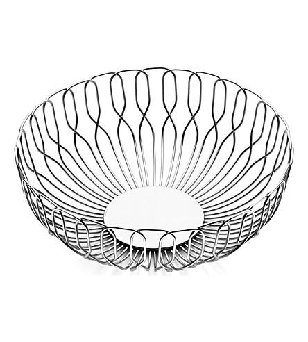 GEORG JENSEN Alfredo stainless steel wire bread basket