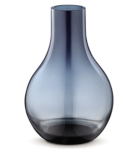 GEORG JENSEN Cafu glass vase extra small